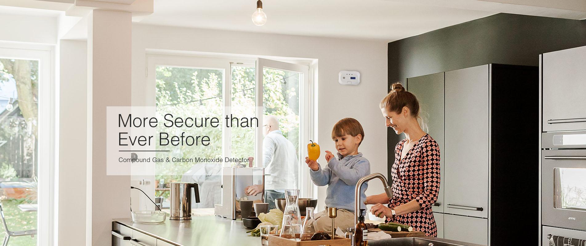 smart home alarm serie
